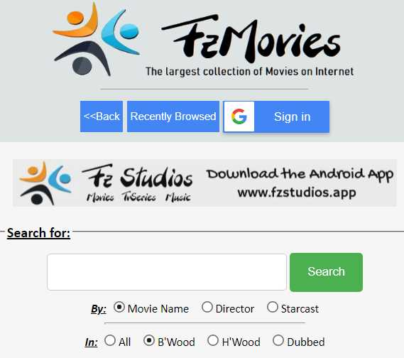 What is FZ Movies.net Website How People Free Download Bollywood and Hollywood Movies using It